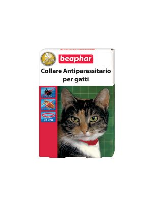 Beaphar Collare Gatto Rosso Box
