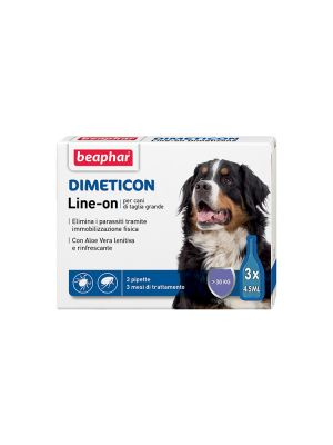 Beaphar Dimeticon - Line-On Cane Grande 3 pipette