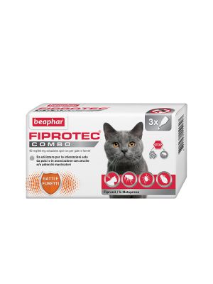 Beaphar Fiprotec Combo - Gatto 3 pipette