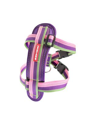 EzyDog Chest Plate Harness - Bubble Gum XL