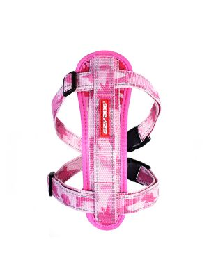 EzyDog Chest Plate Harness - Rosa Camo S