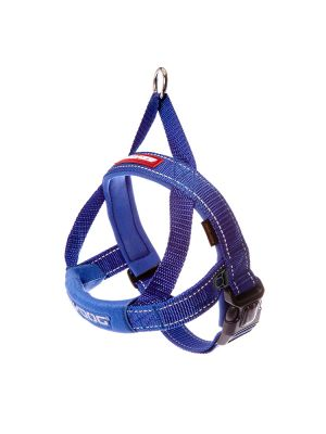 EzyDog Quick Fit Harness - Blue M