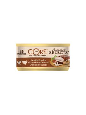 Wellness CORE Cat - Signature Selects - Straccetti di Pollo con Tacchino - 79 gr