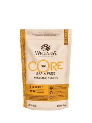 Wellness CORE Cat - Sterilised - Pollo e Tacchino - 300 gr