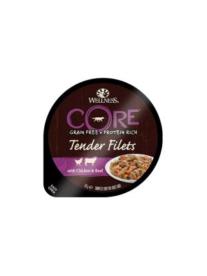 Wellness CORE Dog - Tender Filets - con Pollo e Manzo - 170 gr