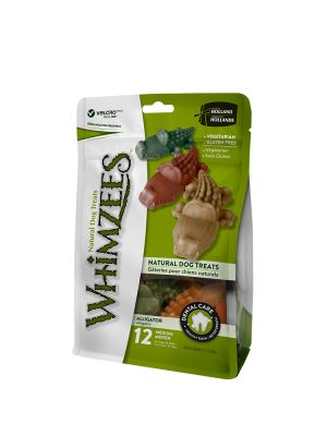 Whimzees Busta - Alligatore M - 12 pz 360 gr