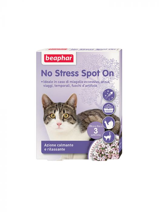 Beaphar No Stress Spot On Gatto 3 Pipette