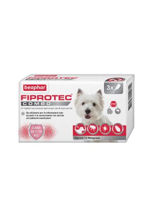 Beaphar Fiprotec Combo - Cane Piccolo 3 pipette