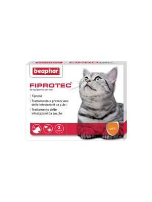 Beaphar Fiprotec - Gatto 3 pipette