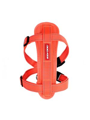 EzyDog Chest Plate Harness - Arancione M