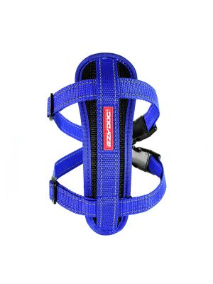 EzyDog Chest Plate Harness - Blue L