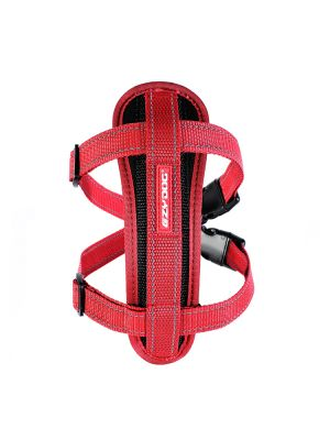 EzyDog Chest Plate Harness - Rosso L