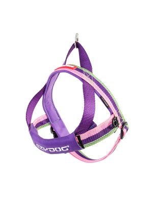 EzyDog Quick Fit Harness - Bubble Gum L