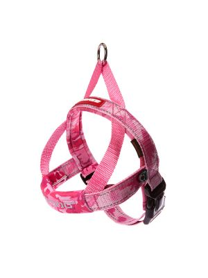 EzyDog Quick Fit Harness - Rosa Camo XS