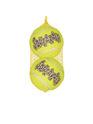 KONG Air Squeaker Tennis Ball - L (2 pz)