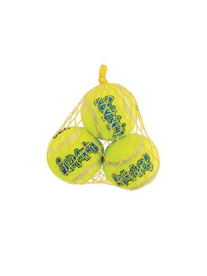 KONG Air Squeaker Tennis Ball - XS (3 pz)