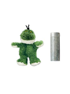 KONG Cat Refillable Catnip Frog