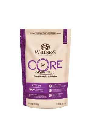 Wellness CORE Cat - Kitten - Tacchino e Salmone - 300 gr