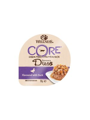 Wellness CORE Cat - Savoury Duos - Anatra - 79 gr