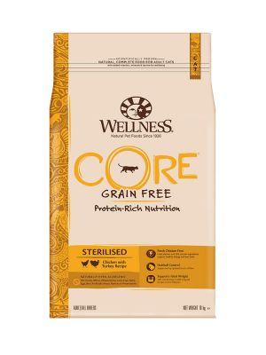 Wellness CORE Cat - Sterilised - Pollo e Tacchino - 10 Kg