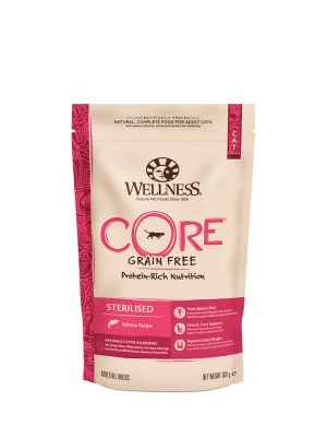 Wellness CORE Cat - Sterilised - Salmone - 300 gr