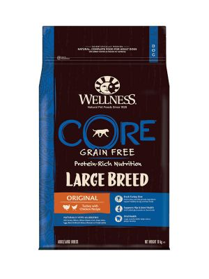 Wellness CORE Dog - Large Breed Adult Original - Tacchino e Pollo - 10 Kg