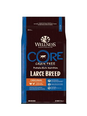 Wellness CORE Dog - Large Breed Adult Original - Tacchino e Pollo - 2_75 Kg