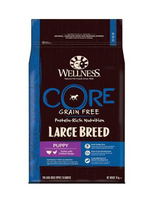 Wellness CORE Dog - Large Breed Puppy - Tacchino e Pollo - 10 Kg