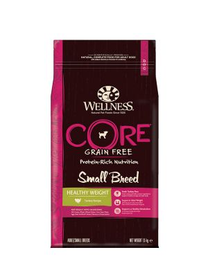 Wellness CORE Dog - Small Breed Healthy Weight - Tacchino - 1_5 Kg