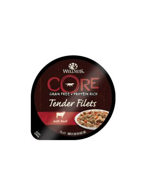 Wellness CORE Dog - Tender Filets - con Manzo - 170 gr
