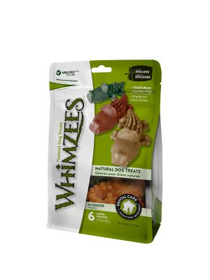 Whimzees Busta - Alligatore L - 6 pz 360 gr